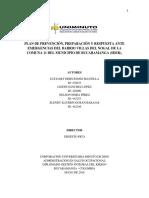 Plan de Ppr a Emergencias Para Imprimir