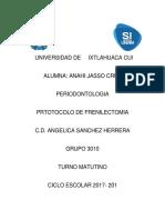 Protocolo de Frenilectomia