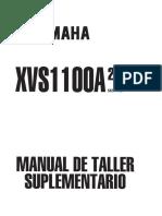 Dragstar Mantenimiento General Xvs1100 Año 2000 Laschiverascom