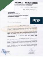Propuesta salarial de Buses Paraná a UTA