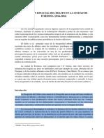 PASTOR, P Percepcion Del Delito en La Ciudad de Formosa