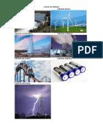Clases de Energia
