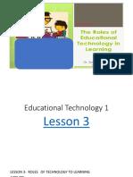 lesson 3 edtech