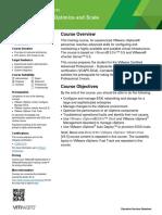Vmware course Optimisation