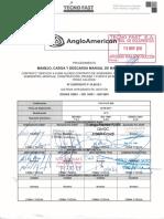 7451-P-OP-006 Manejo, Carga y Descarga Manual de Materiales R0