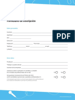MIM Formulario Inscripcion