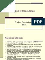El Informe Psicológico