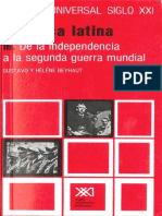 23 - America Latina Parte 3_ de La Independencia a La Segunda Guerra Mundial - Gustavo y Hélene Beyhaut