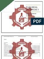 Plan Anual de Ciencia y Tecnologia 3 2019-2020