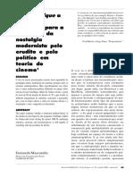 Mascarello_De Cinéthique a Maffesoli