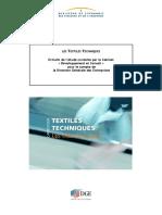 Textiles Techniques Dossier Presse PDF