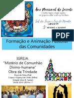 Ano Do Laicato - Formação Para as Comunidades