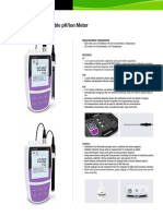 Bante320/321 Portable pH/Ion Meter Brochure