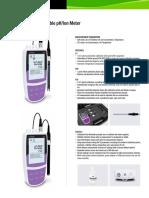 Bante320/321 Portable pH/Ion Meter Brochure