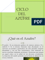 Ciclo Del Azufre
