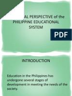 historicalperspectiveofthephilippineeducationalsystemleeann-111018041407-phpapp01