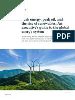 Peak Energy Peak Oil and the Rise of Renewables VF
