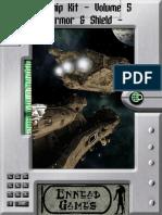 Starship Kit, Vol 5 - Armor & Shield Generator