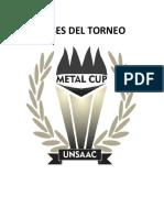Bases Del Torneo