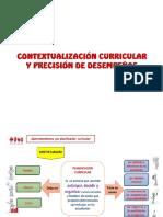 2. Contextualización Curricular y Precisión de Desempeños