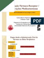 Interação Farmaco-Receptor Interações Medicamentosas O 2018 2