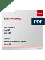 Applied Rheology by Anton Paar