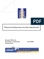 BOUVIER Elements Droit Administratif Avril 2011