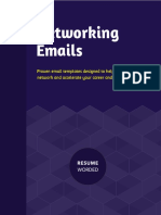 Networking Emails Book-Resume Worded