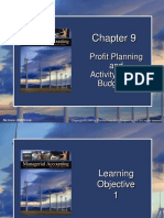 Profit Planning and Activity Based Budgeting