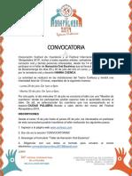 Convocatoria Taller de Narración Oral CORFESCU  2019