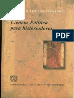 Ciencia política para historiadoes