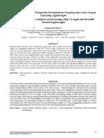 Analisa Komparatif Pengaruh Pertambahan Panjang Da