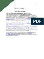 Categorizacion Industrial – Ley 11459