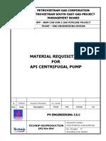 NCS2-TPGM-FD-3!00!04-MR-001 Rev AC Material Requisition for API Centrifugal Pump