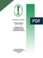 Analisis de Estados Financieros Horizontal CAMU