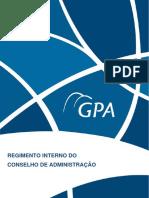 PCAR4 Regimento Interno ConselhoAdministração PORT