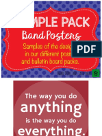 Sample Pack Posters