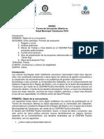Bases Torneo CESFAM Paulina Avendaño y Desafíos