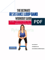 Resistance Loop Band- Workout Guide