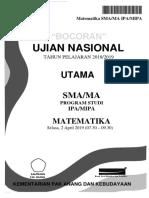 Bocoran Soal UN Matematika SMA IPA 2019 [pak-anang.blogspot.com].docx