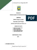 Estructura Del Proyeccto Diseño1A