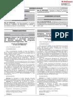 RESOLUCION MINISTERIAL N° 320-2019-MC