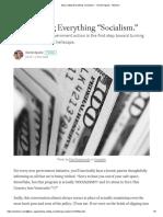 """Socialism."" - Daniel Aguilar - Medium"