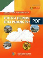 Analisis Sensus Ekonomi 2016 Hasil Listing Potensi Ekonomi Kota Padang Panjang