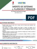 4 Modelamiento de Sistemas Mecanicos, Hidraulicos y Neumaticos