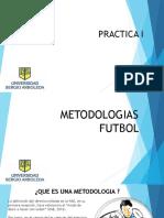 Metodologias Globales en El Futbol