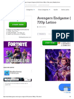 Descargar Avengers Endgame (2019) Película 1080p y 720p Latino _ BlizzBoyGames