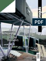 El Croquis 149 Experimentos Colectivos
