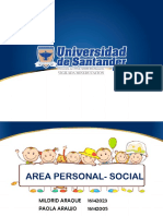 Area Personal Social