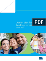 Action Plan for Oral Health Promotion 2013-2017